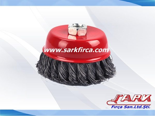 Cup Brushes Crimped wire